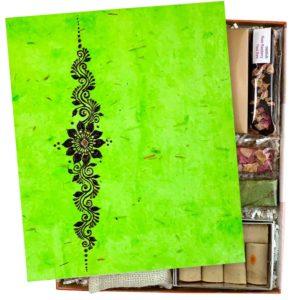 Send Heena art rakhi to UK