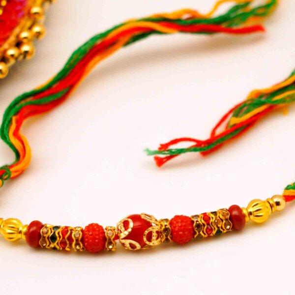 Thread of devotion with Rakhi card