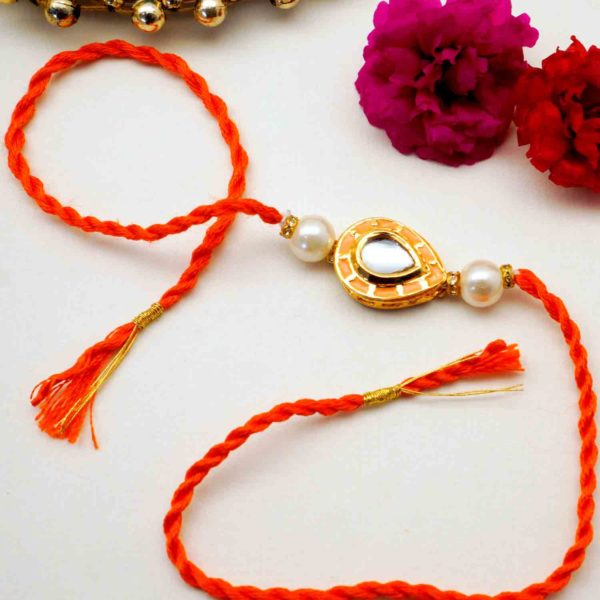 Buy Beaded Rakhi online in chicago