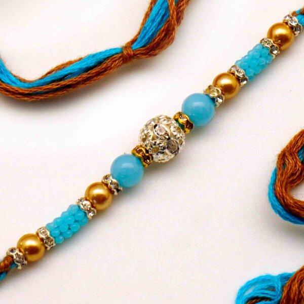 Buy Beaded Rakhi online in USA