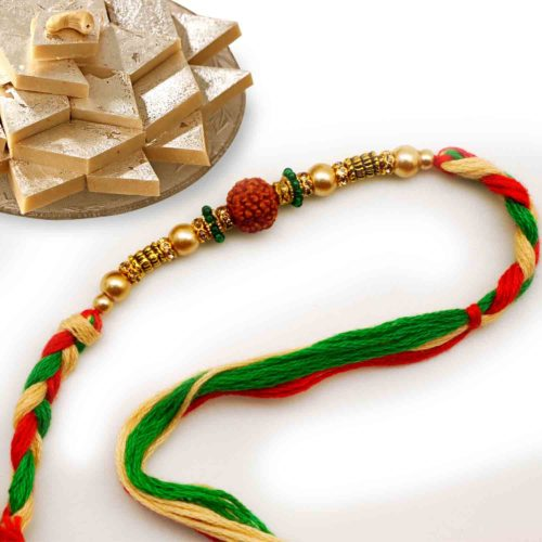 Send Rudraksh rakhi to USA