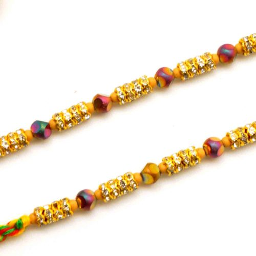 Buy Beaded Rakhi online in new jersey
