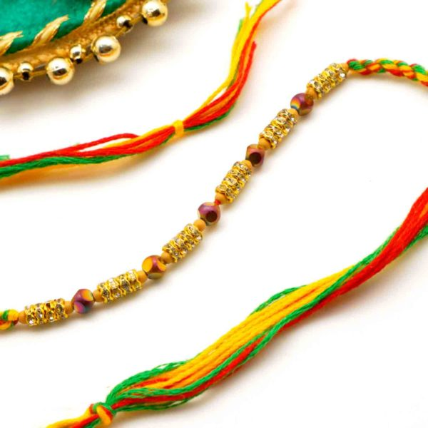 Buy Beaded Rakhi online in new york