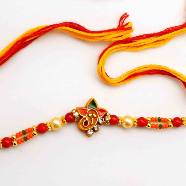 Send Teen Patra Ganesh Rakhi to USA