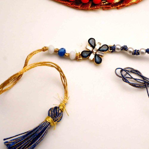 Beaded designer rakhi in New york