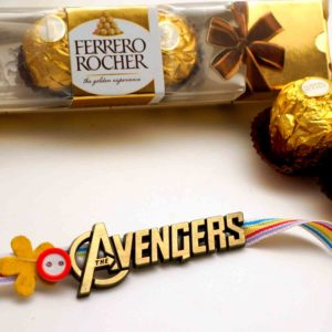 Buy mighty avengers rakhi in india