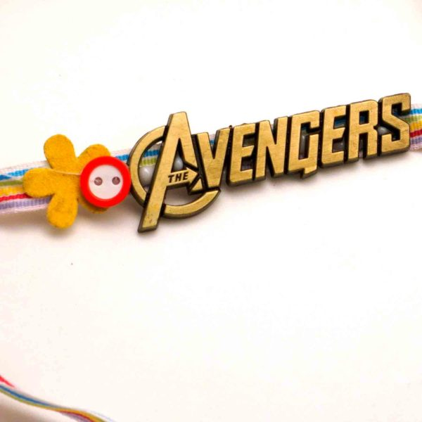 Buy mighty avengers rakhi in USA