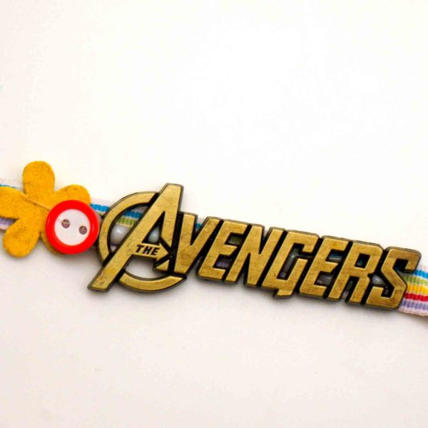 Buy mighty avengers rakhi in california