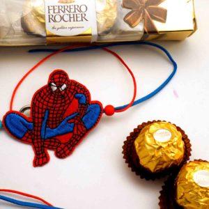 Send spiderman rakhi to india