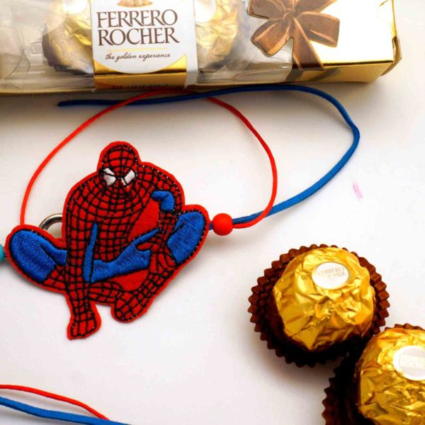 Send spiderman rakhi to india