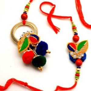 Buy Zari Bhaiya Bhabhi Rakhi online