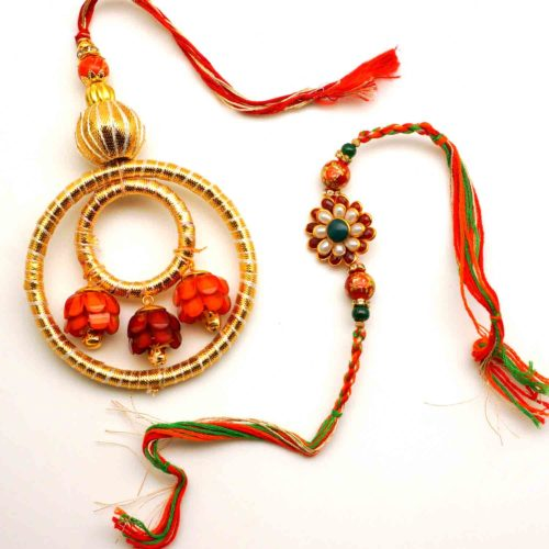Buy floral rakhi in USA