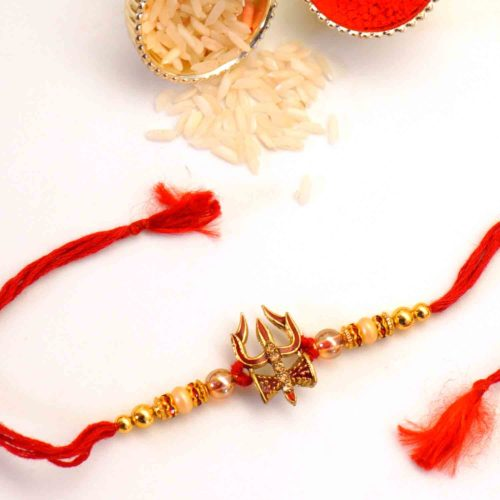 Buy Trishul Rakhi in Chicago