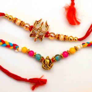 Buy Trishul and Ganesh Rakhi in New york