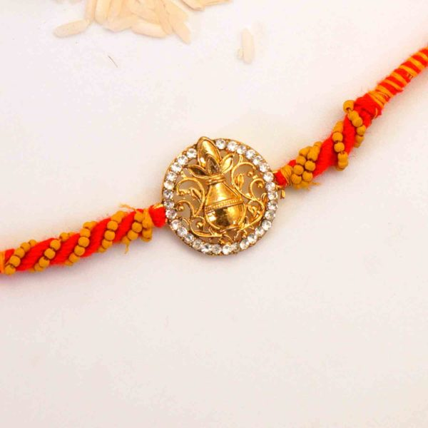 Send Kalash rakhi to india