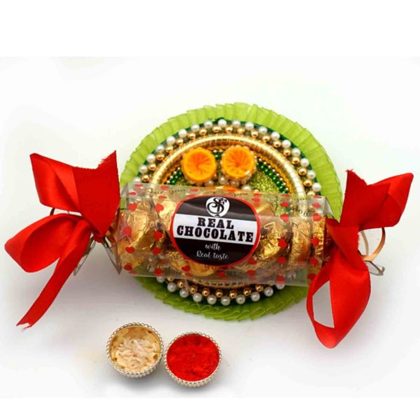 Exclusive traditional Thaal with assorted delicacies