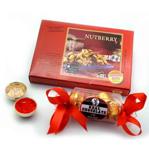 Nutmerry and Chocolatious Bhaidooj Combo