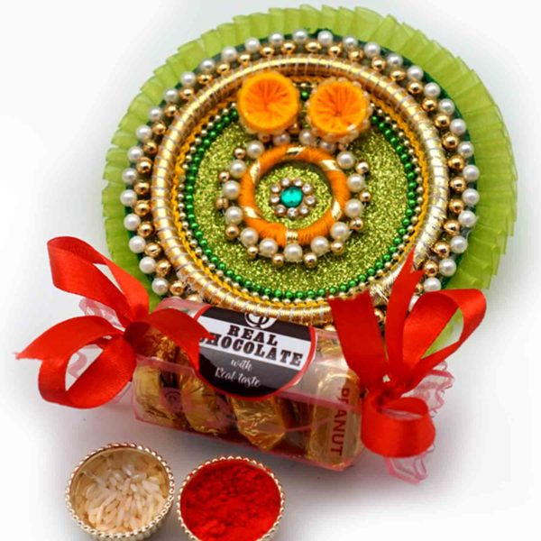 Viridescent Handmade Thal and Chocolates