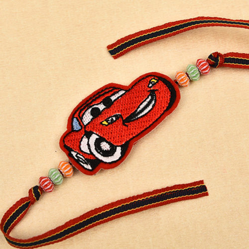 Buy Cool Toy Car Rakhi- Rakhi Delivery in Delhi