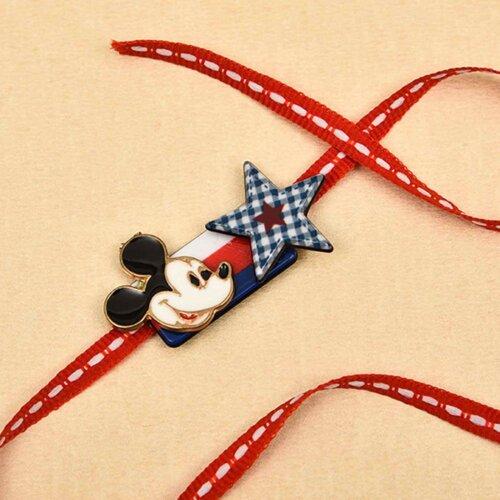 Mickey Mouse Cartoon Rakhi - Online Rakhi in Delhi