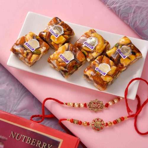 Get delicious nutberries and multiple rakhis.