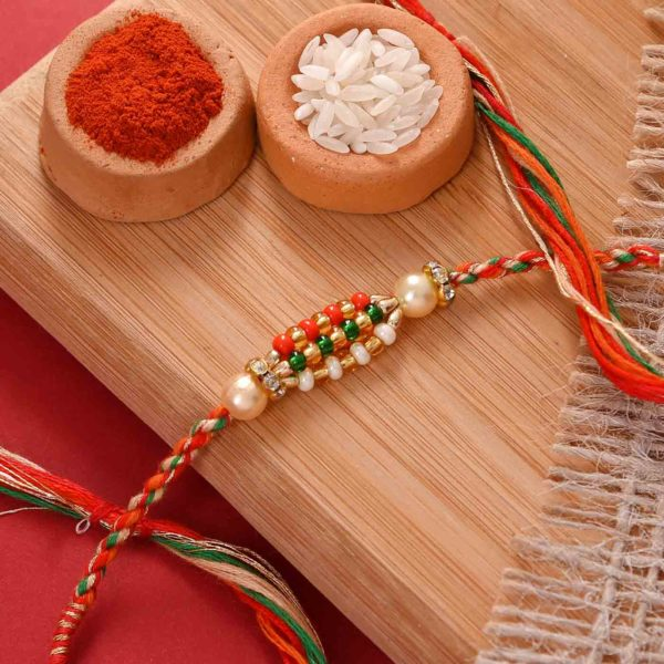 Simplistic Rakhi with Flavoured Cashewnuts and Pistachio