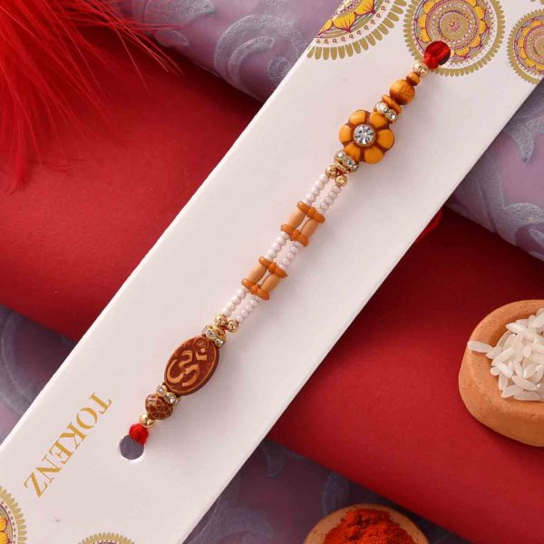 Figberry with Unique Beads Rakhi.