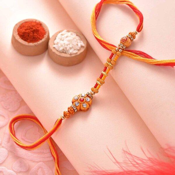 Color of dawn Rakhi
