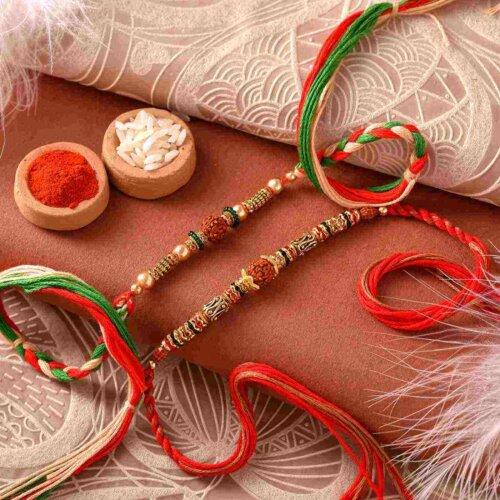 Adorable multicolor rakhi ( Set of 2)