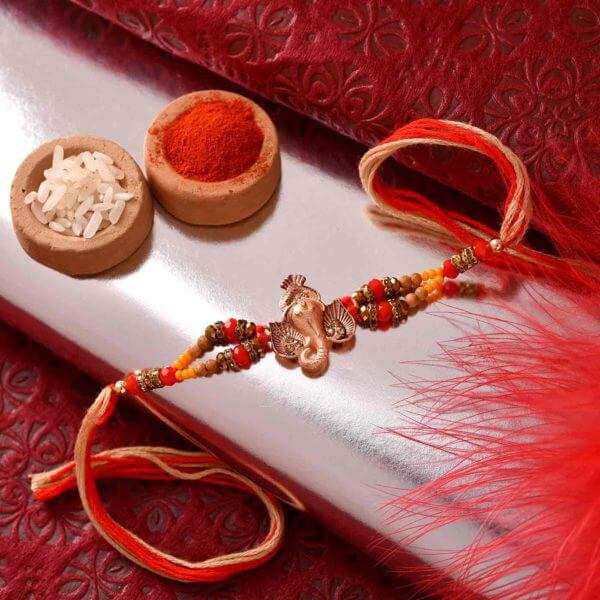 Traditional Ganesha Rakhi
