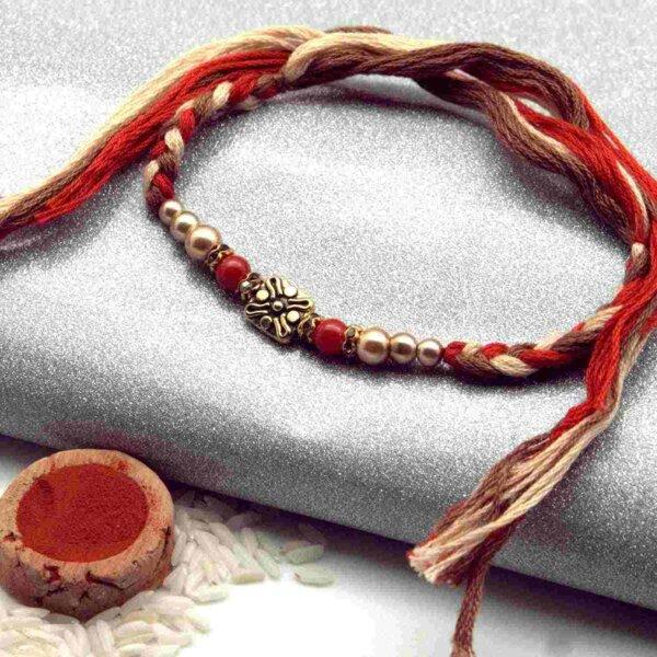 String of art Rakhi