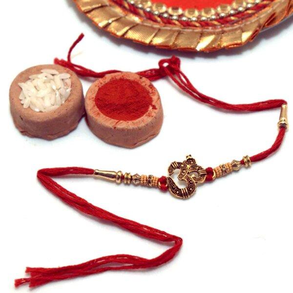 Antique Om Rakhi