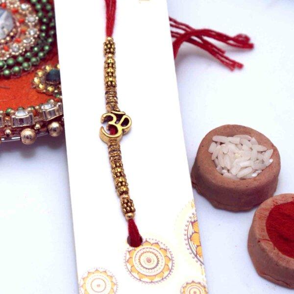 Glistening OM Rakhi