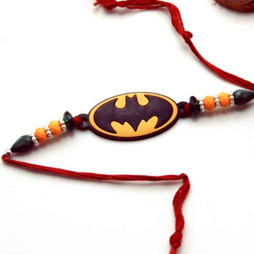 Batman Kids Rakhi with Ferrero Rocher
