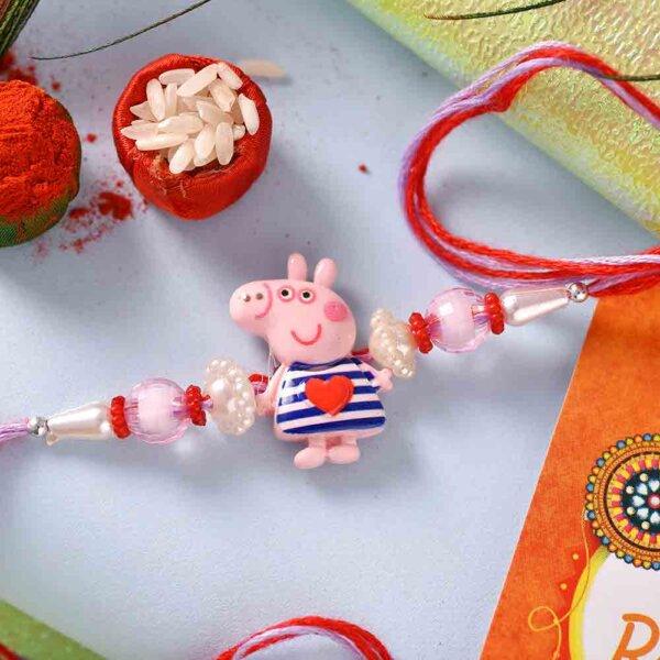 Peppa pig with Chocolates