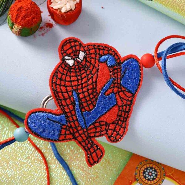 Spider man Rakhi with Chocolates