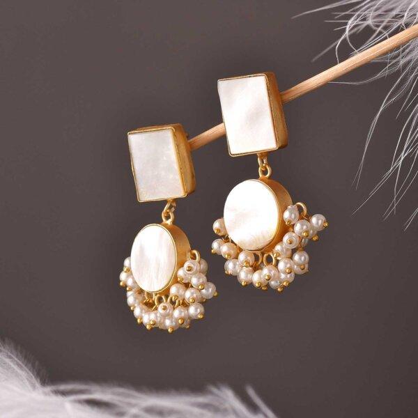 Moon Shine  Earrings