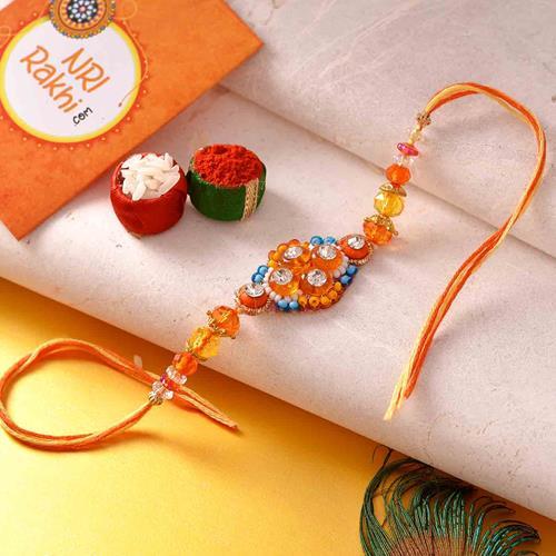 Designer Rakhi with Card