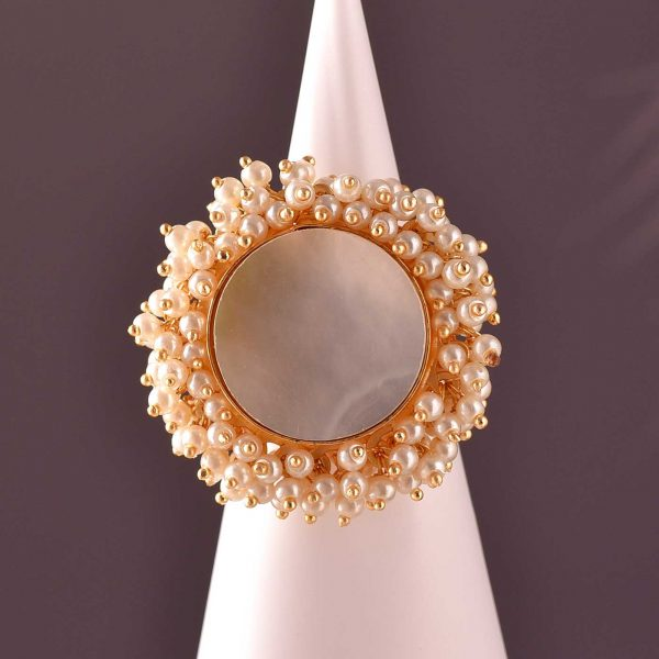 Cent of Pearls Ring