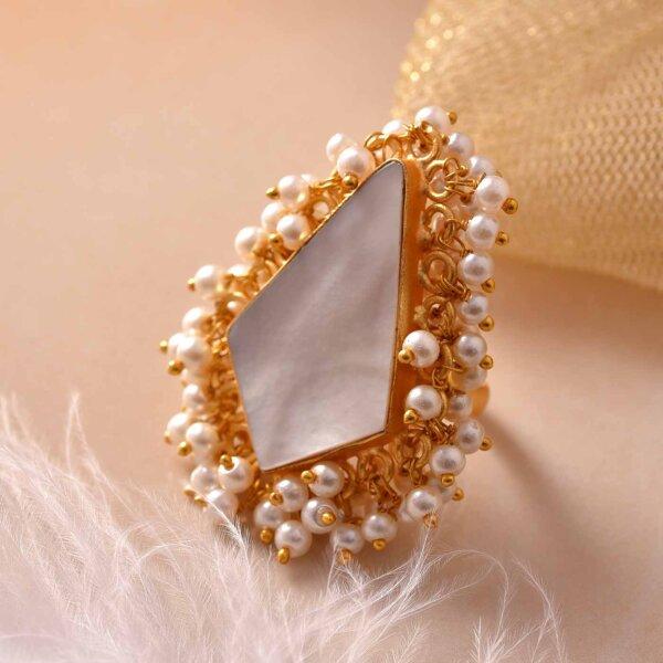 Precious Pearl Ring