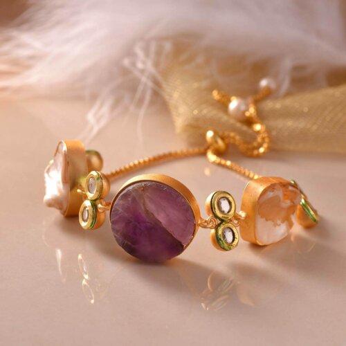 String of Beads Bracelet