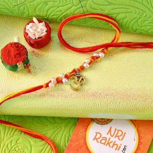 Traditional Om Mauli Rakhi