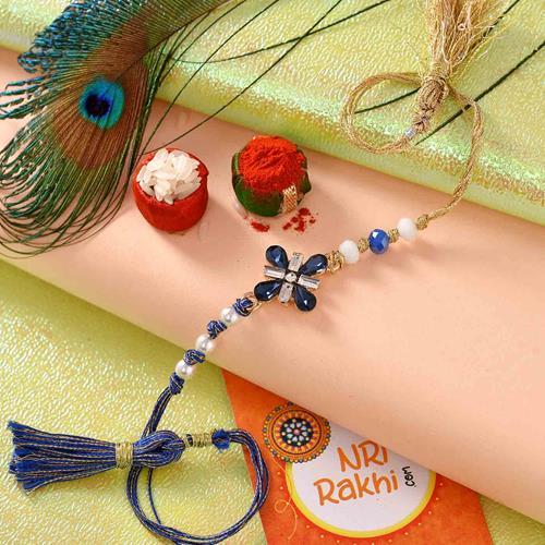 Four Petal Designer Rakhi