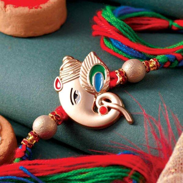 3D Ganpati Design Rakhi