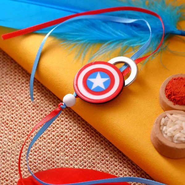 Captain America Shield Rakhi