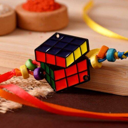 Rubik Cube Rakhi