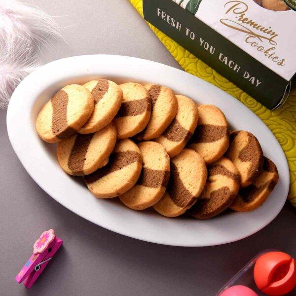 Choco Marble Cookies (200 Gms)