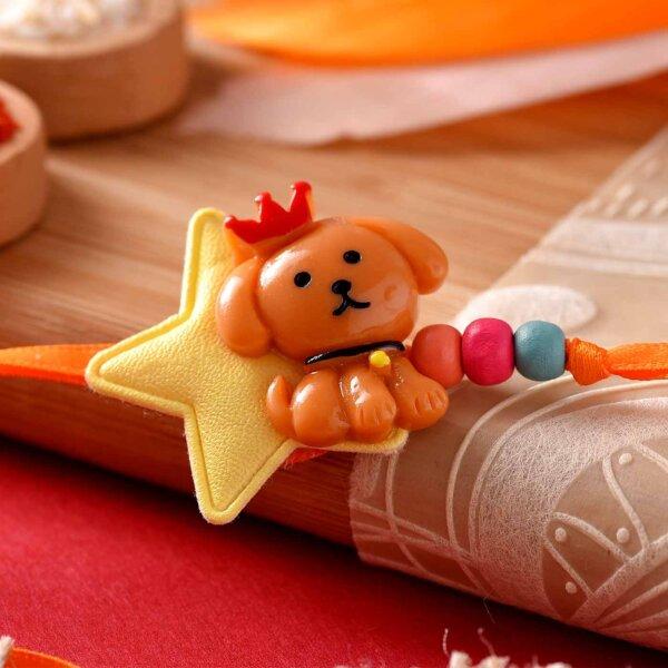 Pup Design Rakhi