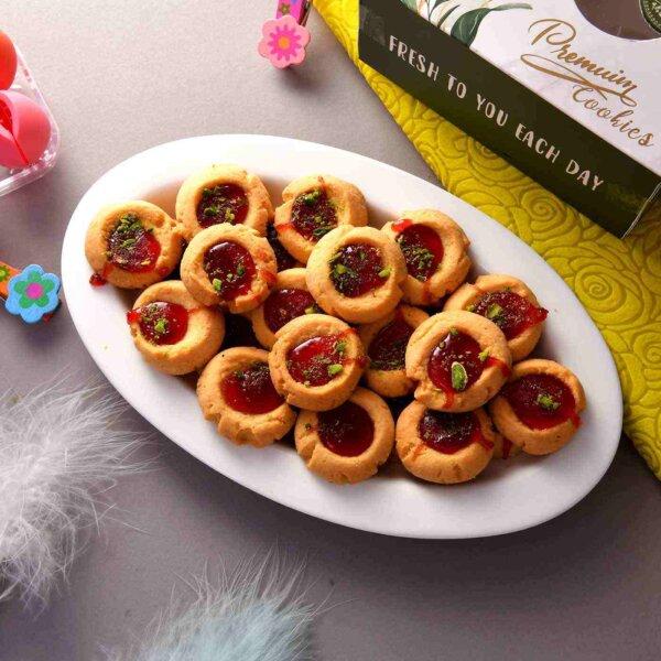 Jam Cookies (200 Gms)