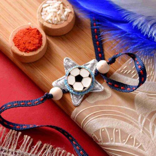 Football Design Rakhi